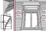 fassadendekoration fassadenstuck fensterbankprofil fensterprofil au enstuck styropor. Black Bedroom Furniture Sets. Home Design Ideas