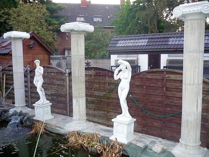 column shape for pillar with piped base form mould ebay. Black Bedroom Furniture Sets. Home Design Ideas