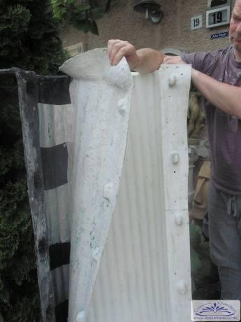 polyesterform negativform f r betons ule selber herstellen und gie en einer s ule mit einer. Black Bedroom Furniture Sets. Home Design Ideas