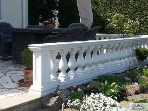 Kleinere balustrade baluster balustrade zur gartendeko pool und schwimmbecken garten gestaltung - Gartendekoration aus beton ...
