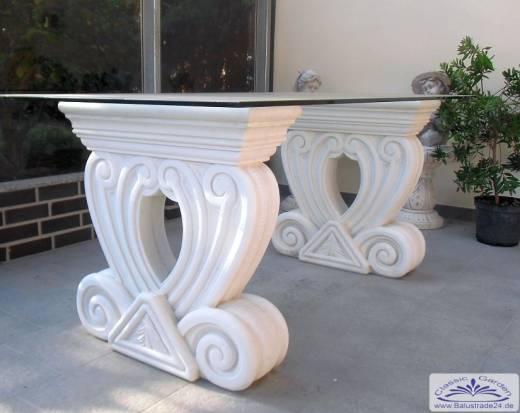 steinm bel gartentisch mit glasplatte elemente f r glastisch gartenfiguren produzent und. Black Bedroom Furniture Sets. Home Design Ideas