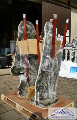 silikonform negativform gartenskulptur gartenfigur. Black Bedroom Furniture Sets. Home Design Ideas