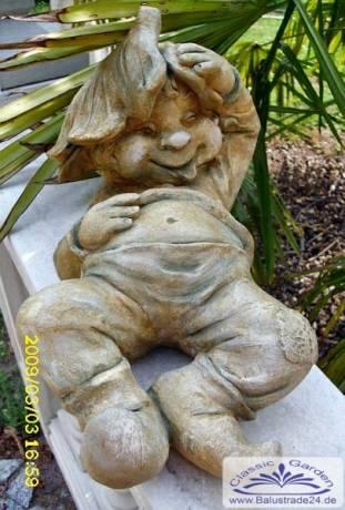 Gartendeko Figuren, gartenzwerg kobold gartenfigur wichtel zwerg troll gnom figur, Design ideen