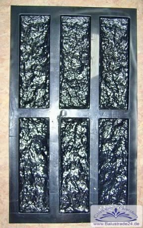 Fein Polyurethan Formen Für Verblender Wandverkleidung Wandreliefs Trittplatten Baustoffe & Holz