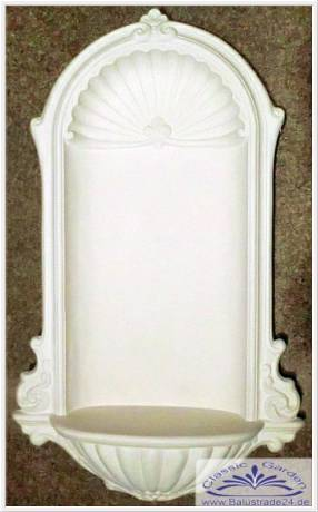 gipsnische stucknische nische wandnische stuck gips nische gartenfiguren formenbau. Black Bedroom Furniture Sets. Home Design Ideas