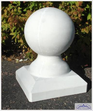 kugelform form f r beton gips kugel gie form pfeiler pfeilerabdeckung gartenfiguren. Black Bedroom Furniture Sets. Home Design Ideas