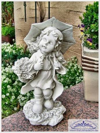 gartenfigur statue figur putte gartendekoration. Black Bedroom Furniture Sets. Home Design Ideas