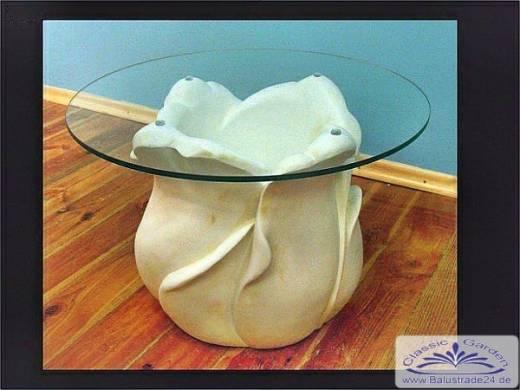 Glastisch tische innendekoration tisch mit ovaler runder - Ovaler glastisch ...