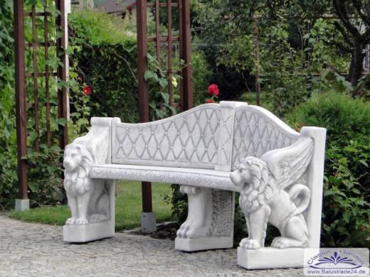 Löwenkopf Gartenbank