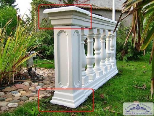 formen f r beton gie formen aus kunststoff silikonformen mit gfk f r die balustraden herstellung. Black Bedroom Furniture Sets. Home Design Ideas