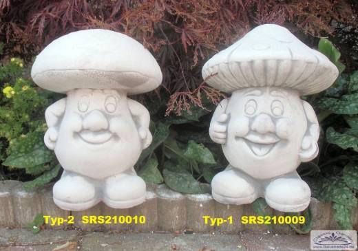 Gartendeko Figuren, steinpilze dekorfiguren - gartenfiguren aus beton produzent und, Design ideen
