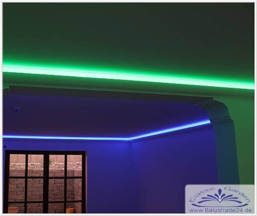 lichtleisten profil kf504 f r indirekte led decken und wandbeleuchtung gartenfiguren aus beton. Black Bedroom Furniture Sets. Home Design Ideas