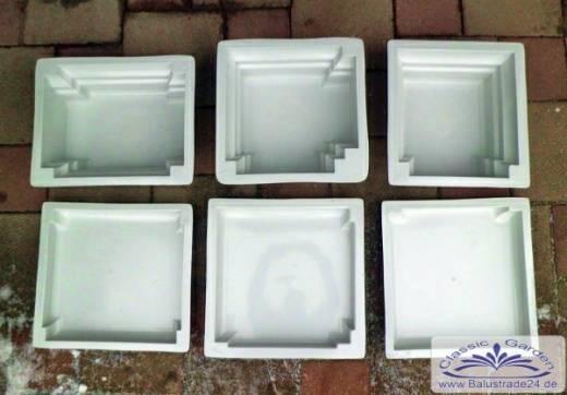 formen f r beton zur herstellung von pfeiler zaunpfeiler. Black Bedroom Furniture Sets. Home Design Ideas