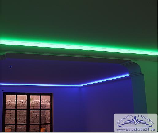 deckenkasten led 12 als lichtleiste und spots indirekte decken und wandbeleuchtung. Black Bedroom Furniture Sets. Home Design Ideas