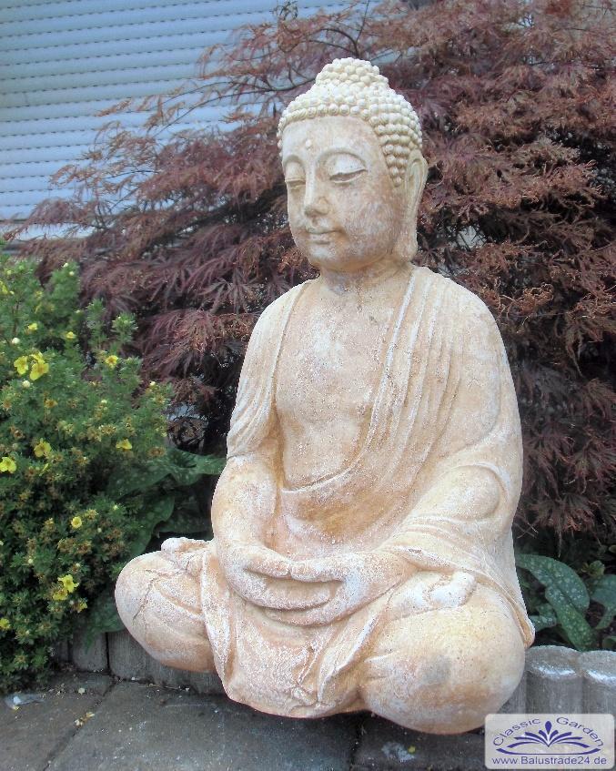 Buddha Gartenfigur Statue Buddhafigur Gartenfiguren