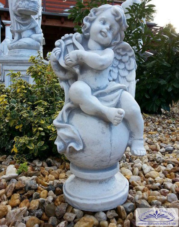 gartendeko engel steinfiguren gartenfiguren produzent. Black Bedroom Furniture Sets. Home Design Ideas
