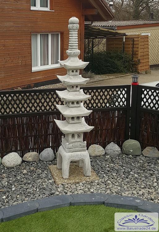 Japanische steinlaterne japaniascher garten steinlaternen for Japanische gartenfiguren