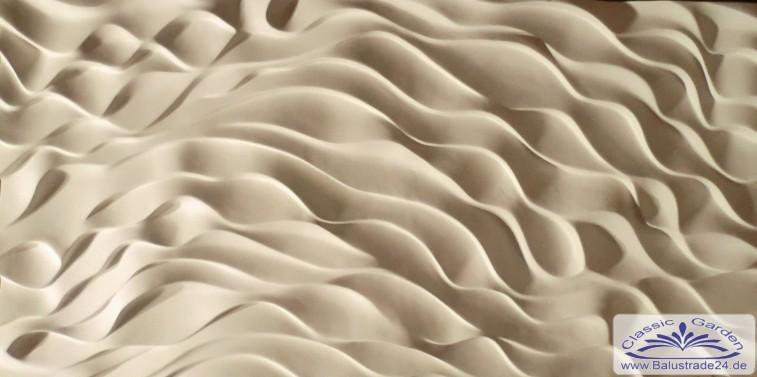 3d deko art design wandpaneele gips wandverkleidung platten aus keramikgips gartenfiguren aus - 3d wandpaneele ...