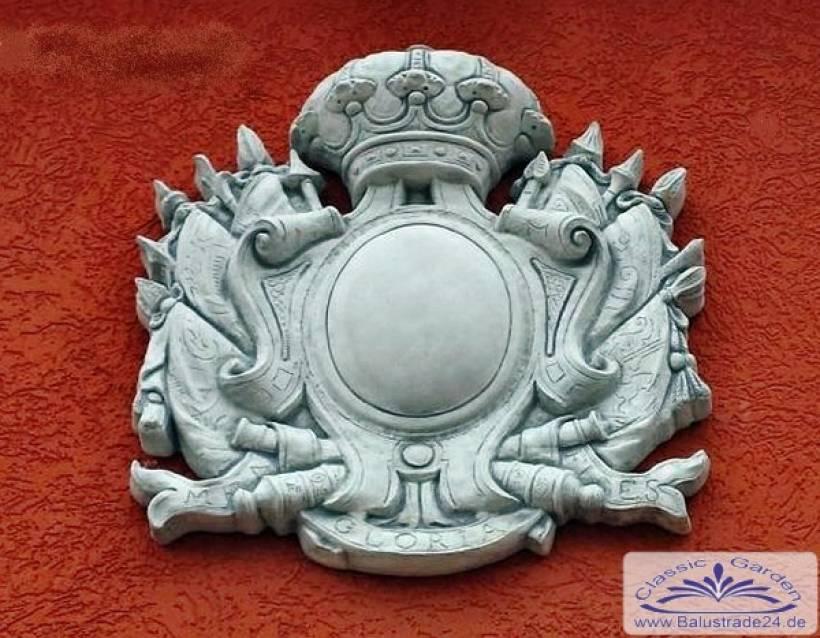 Fassadenstuck Wappen Familienwappen