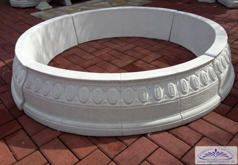 brunnenring baumring runder sandkasten f r kinder gartenfiguren aus beton produzent und. Black Bedroom Furniture Sets. Home Design Ideas