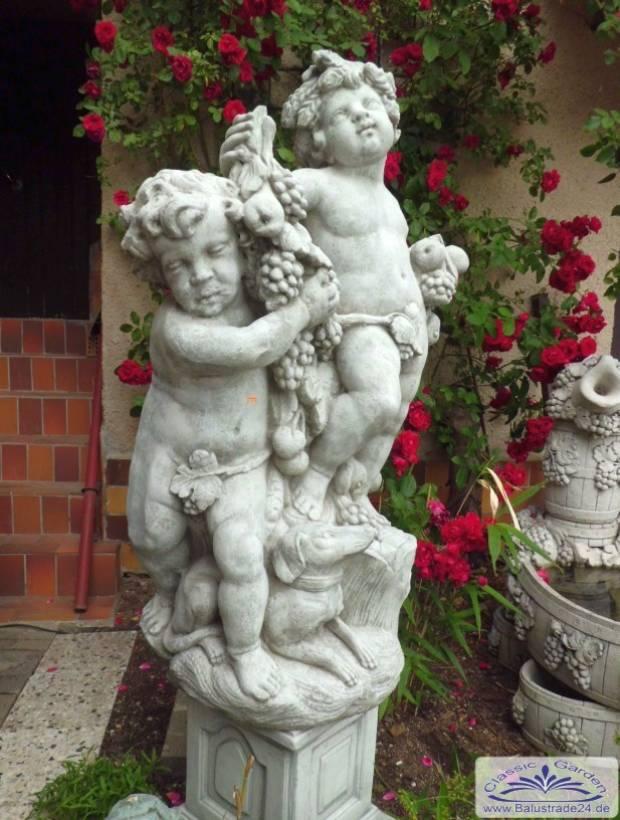 Gartenfigur erntereigen gartenfigurengruppe ernte for Gartenfiguren tiere kunststoff