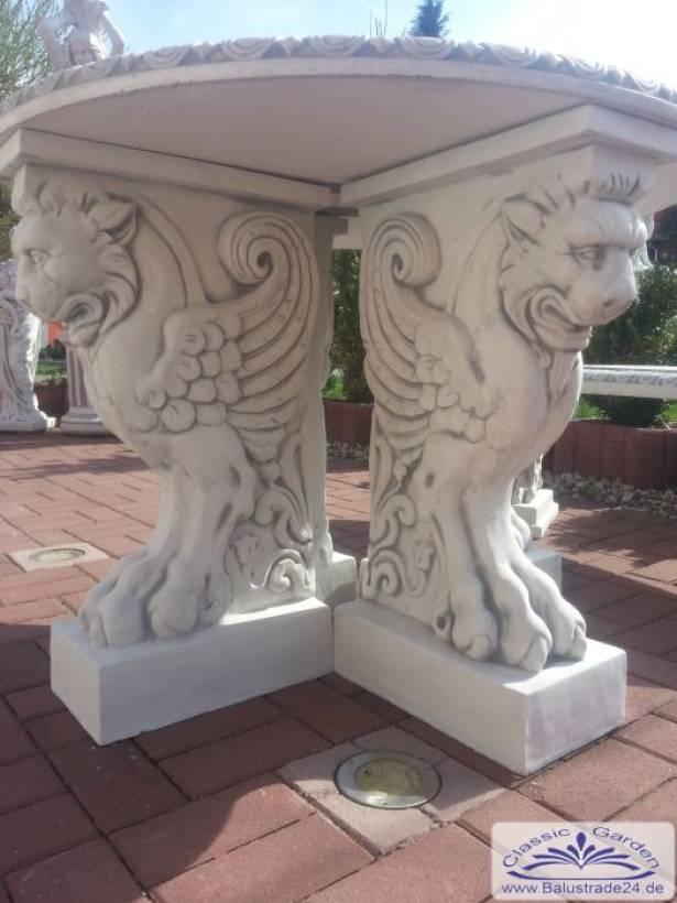 Drachen Fuss Gartentisch Aus Beton Steinmobel Gartenfiguren Aus