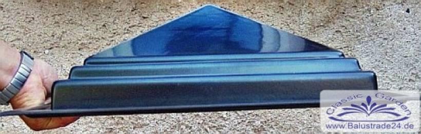 form pfeiler platte abdeckung pfeilerformen pfeilerabdeckung balustrade balustradengel nder. Black Bedroom Furniture Sets. Home Design Ideas