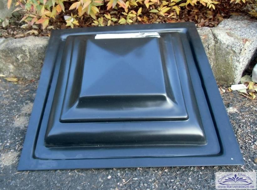 pfeilerplattenform f r beton pfeilerformen pfeilerabdeckug balustrade balustradengel nder. Black Bedroom Furniture Sets. Home Design Ideas
