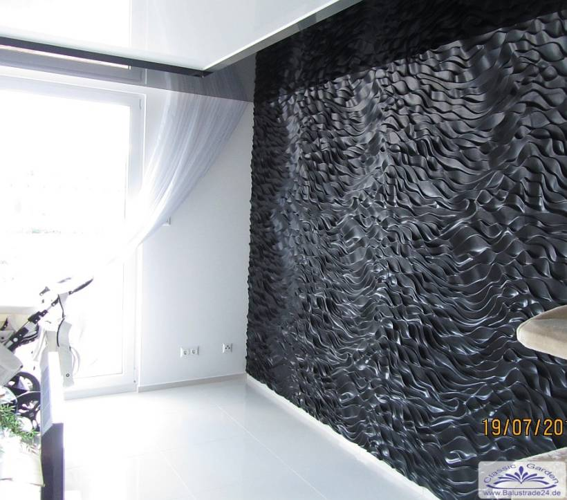 3d Deko Art Design Wandpaneele Gips Wandverkleidung Platten Aus
