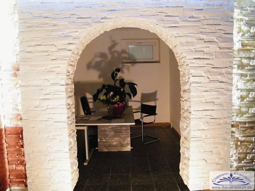Riemchen wandplatten verkleidung aus gips oder beton for Gips decor images