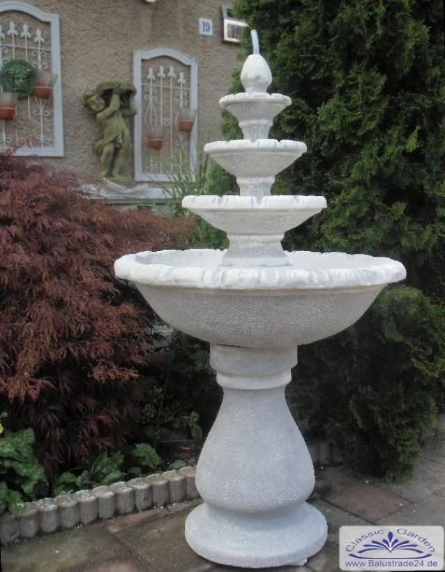 Kleiner Kaskaden Gartenbrunnen