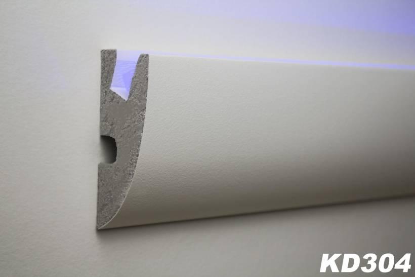 Lichtleiste kd304 f r indirekte decken und wandbeleuchtung - Lichtleiste wand ...