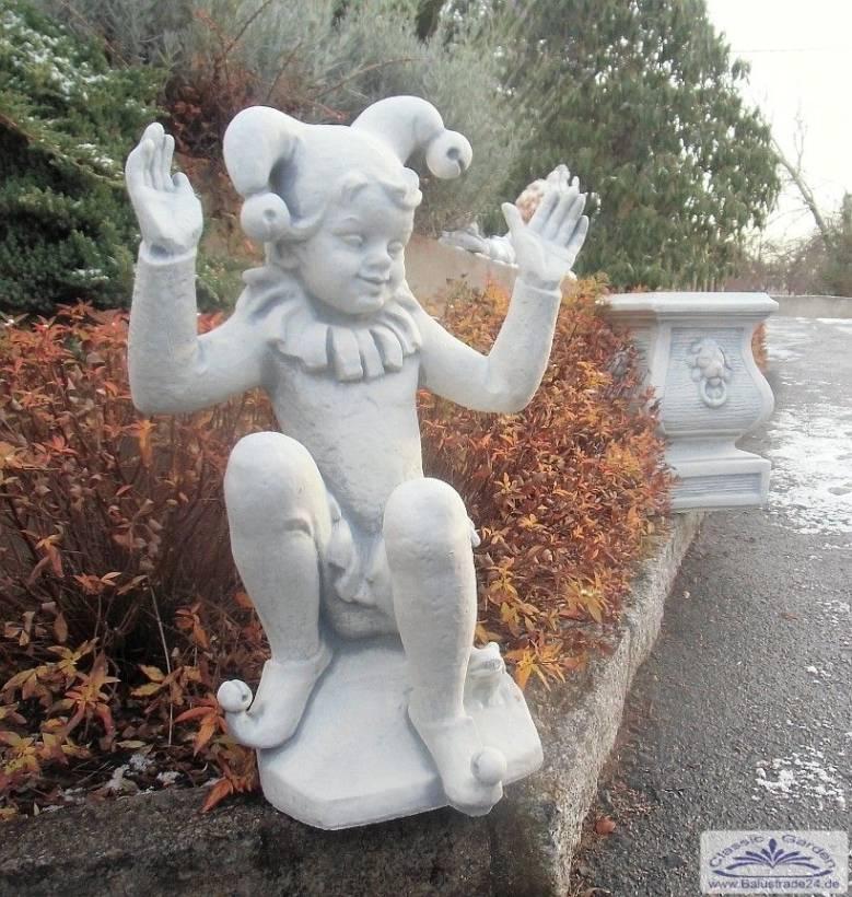 Lustige Hofnarren Steinfigur Gartenfiguren Aus Beton Produzent Und