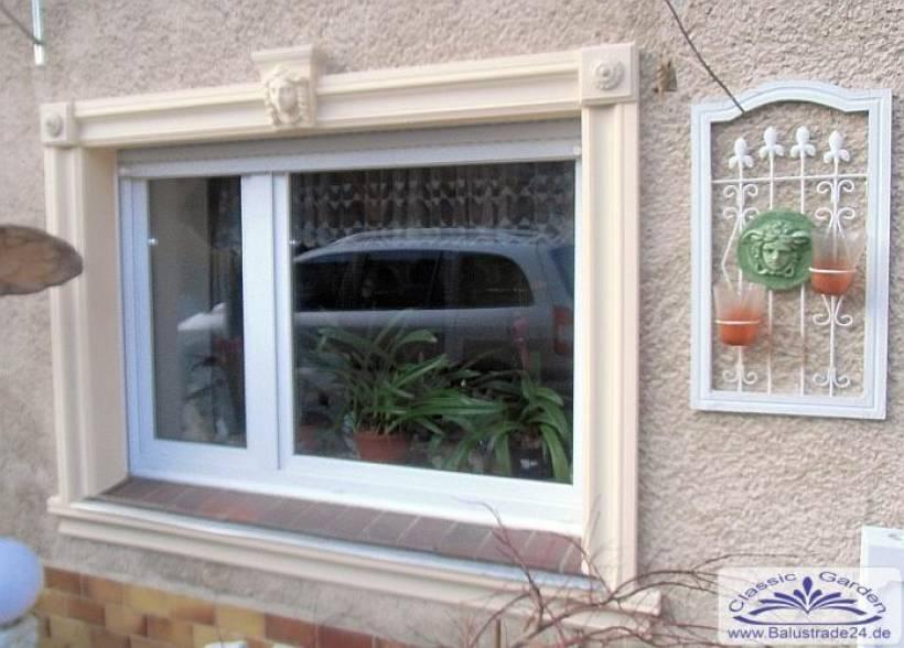Fenster Fassadenstuck