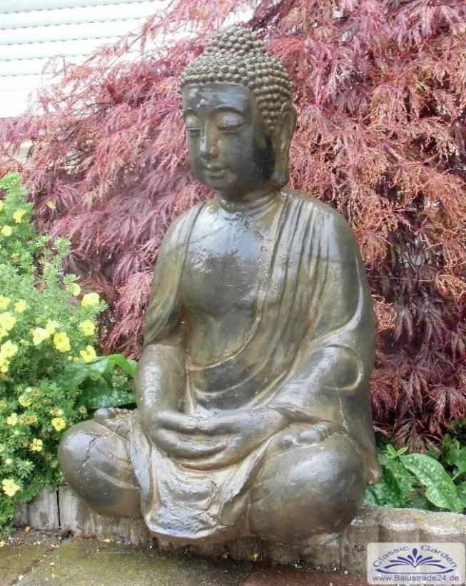 Buddha gartenfigur statue buddhafigur gartenfiguren aus beton produzent und h ndler von - Asiatische gartendeko ...