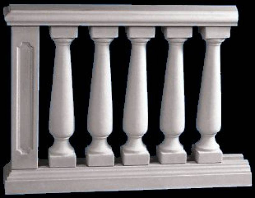 balkongel nder mit balustraden terrassengel nder mit. Black Bedroom Furniture Sets. Home Design Ideas