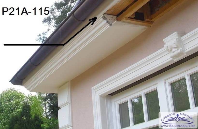 Fassaden Gesimsprofil Dachkante