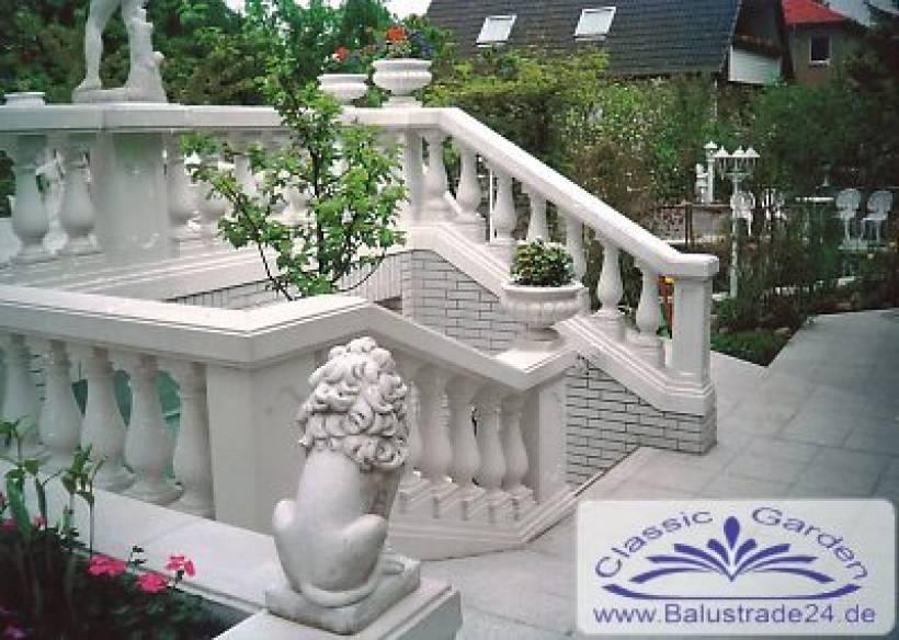 balustradengel nder balustrade zaun baluster balustraden. Black Bedroom Furniture Sets. Home Design Ideas