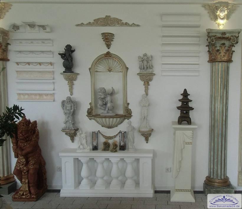 gipsnische stucknische nische wandnische stuck gips nische gartenfiguren aus beton produzent